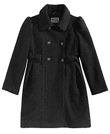 S. Rothschild Big Girls Sparkle Bows Coat