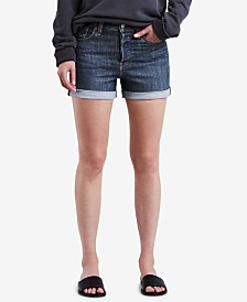 Levi's® Wedgie High-Rise Denim Shorts
