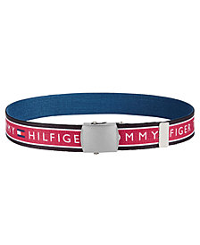 Tommy Hilfiger Big Boys Printed Stretch Belt