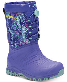 Merrell Little Girls Snow Quest Lite Boots