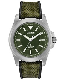 Citizen Eco-Drive Men's Promaster Tough Collection Fabric Strap Watches