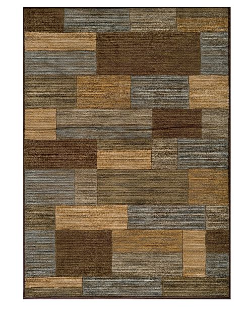 "Momeni CLOSEOUT! Area Rug, Dream DR-04 Brown 5' 3"" x 7' 6"""