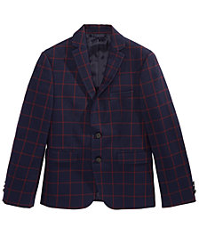 Lauren Ralph Lauren Big Boys Windowpane Suit Jacket