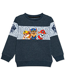 Nickelodeon Little Boys Paw Patrol Sweatshirt