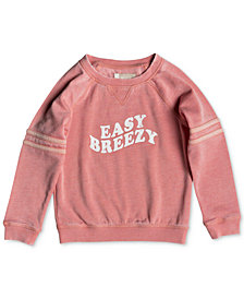 Roxy Little Girls Graphic-Print Sweatshirt