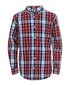 Tommy Hilfiger Big Boys Gregor Plaid Shirt