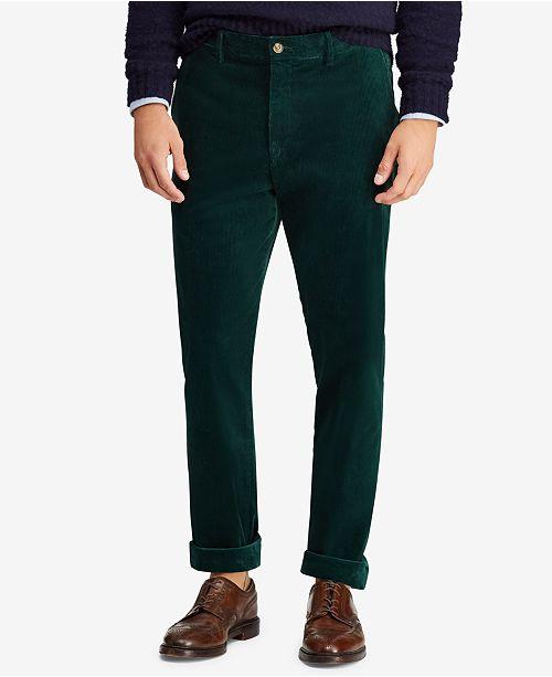 cf16dd16 Polo Ralph Lauren Men's Stretch Classic Fit Corduroy Pants ...