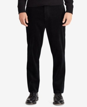 Polo Ralph Lauren Men's Stretch Classic Fit Corduroy Pants In Polo Black