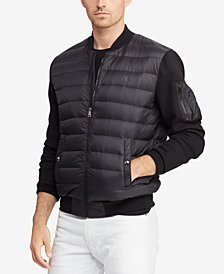 Polo Ralph Lauren Men's Hybrid Down Bomber Jacket