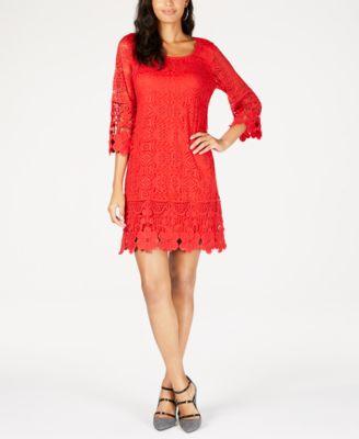 Tea Length Red Formal Dresses Macy's