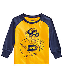 Levi's® Baby Boys Graphic Cotton Shirt