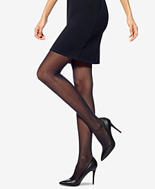 HUE® Flat-tering Fit Opaque Tights
