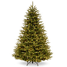 National Tree Company 7 .5' Feel Real Ridgedale Fir Tree with 850 Warm White LED Lights & PowerConnect™