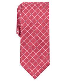 Perry Ellis Men's Nenad Grid Slim Tie