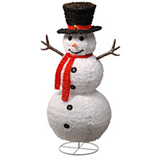"National Tree 48"" Pop-Up Snowman"