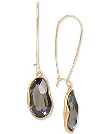 Robert Lee Morris Soho Gold-Tone Stone Drop Earrings