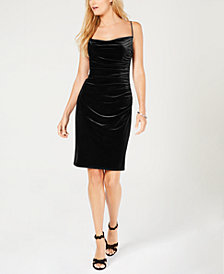 Laundry by Shelli Segal Velvet Bodycon Dress
