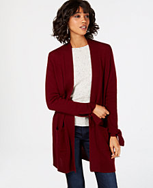 Charter Club Cashmere Open-Front Cardigan, in Regular & Petite Sizes, Created for Macy's