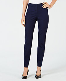 Alfani Petite Printed Ankle Pants, Created for Macy's