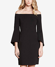 Karen Kane Off-The-Shoulder Bell-Sleeve Dress