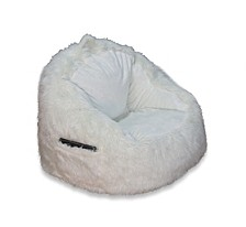 Faux Fur Bean Bag Chair