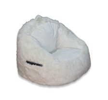 Acessentials Faux Fur Bean Bag Chair
