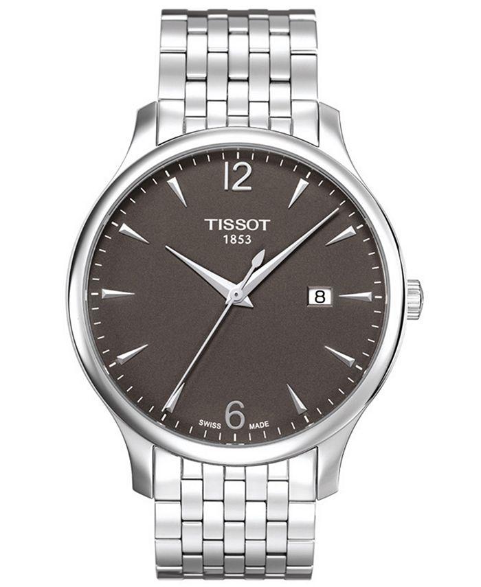 Tissot - Watch, Men's Swiss Tradition Stainless Steel Bracelet T0636101106700