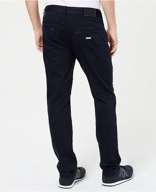 0beeb924 A|X Armani Exchange Men's J27 Slim-Fit Navy Jeans & Reviews ...