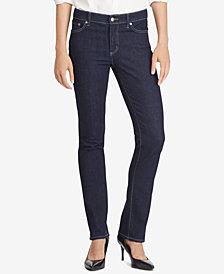 Ralph Lauren Petite Premier Straight Jeans