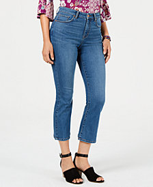 Style & Co Petite Bootcut Ankle Jeans, Created for Macy's
