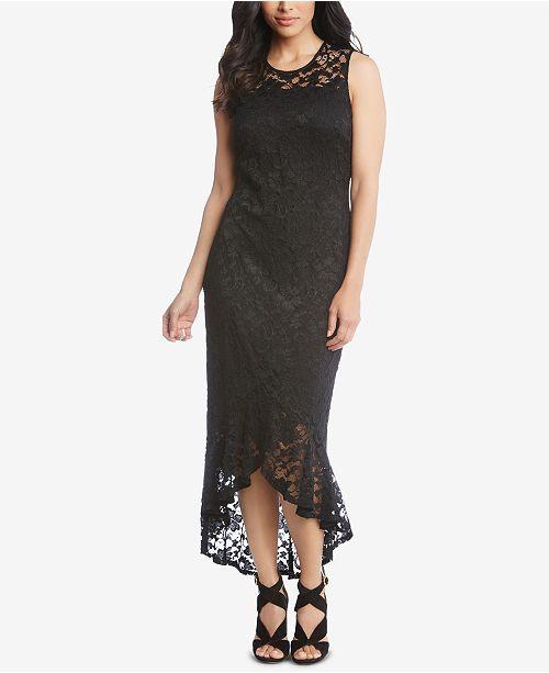 bd77399367ca5 Karen Kane Lace High-Low Dress   Reviews - Dresses - Women - Macy s