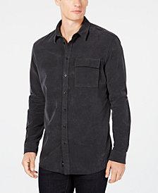 DKNY Men's Corduroy Button-Down Shirt