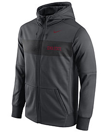 Nike Men's Iowa State Cyclones Performance Sideline Hooded Sweatshirt