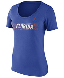 Nike Women's Florida Gators Sideline Scoop T-Shirt 2018