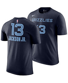 Nike Men's Jaren Jackson Jr. Memphis Grizzlies Icon Player T-Shirt