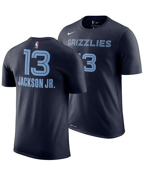 c69cdc091bf ... Nike Men's Jaren Jackson Jr. Memphis Grizzlies Icon Player T-Shirt ...