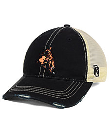 Retro Brand Oklahoma State Cowboys Retro Distressed Trucker Snapback Cap