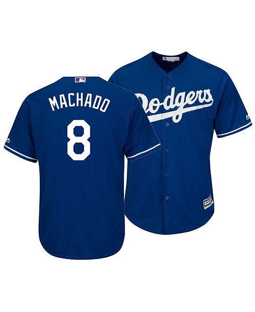 online store 01bc6 71e8e Majestic Men's Manny Machado Los Angeles Dodgers Player ...