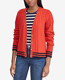 Lauren Ralph Lauren Cable-Knit Cardigan
