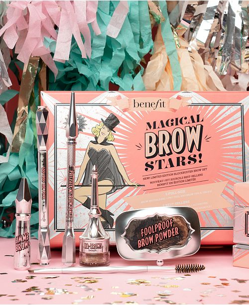 9940db74dc7 Benefit Cosmetics 6-Pc. Limited Edition Magical Brow Stars! Set ...