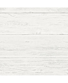 Shiplap Peel and Stick Wallpaper