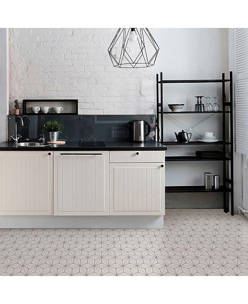 Brewster Home Fashions Kikko Peel and Stick Floor Tiles