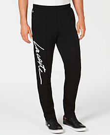 Lacoste Men's LIVE Signature Fleece Joggers