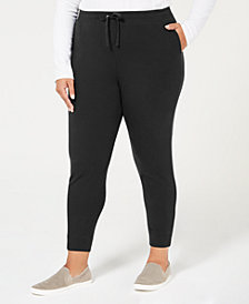 Karen Scott Plus Size Jogger Pants, Created for Macy's