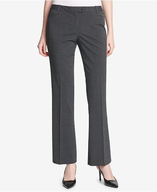 9af58807965e Calvin Klein Modern Fit Trousers   Reviews - Pants   Capris - Women ...