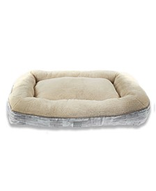 CLOSEOUT! Comfy Pooch Dog Bolster Bed Pillow Bottom