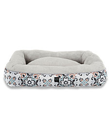 Nicole Miller Comfy Pooch Dog Bolster Bed Pillow Bottom