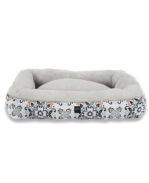 Nicole Miller CLOSEOUT! Comfy Pooch Dog Bolster Bed Pillow Bottom