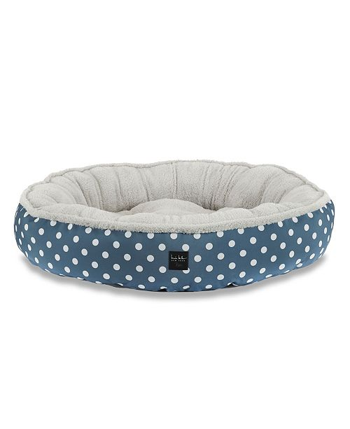 Nicole Miller CLOSEOUT! Comfy Pooch Dog Bolster Bed Round Bolster Bed