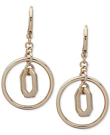 Ivanka Trump Polished Orbital Drop Earrings